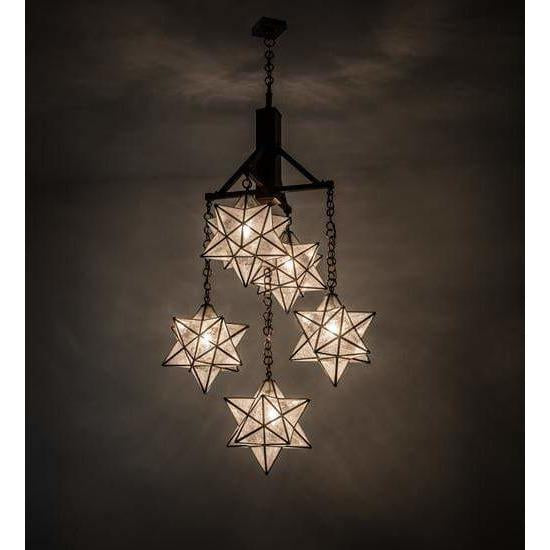 Meyda Lighting Chandeliers Default Moravian Star Ceiling Fixture By Meyda Lighting 171780
