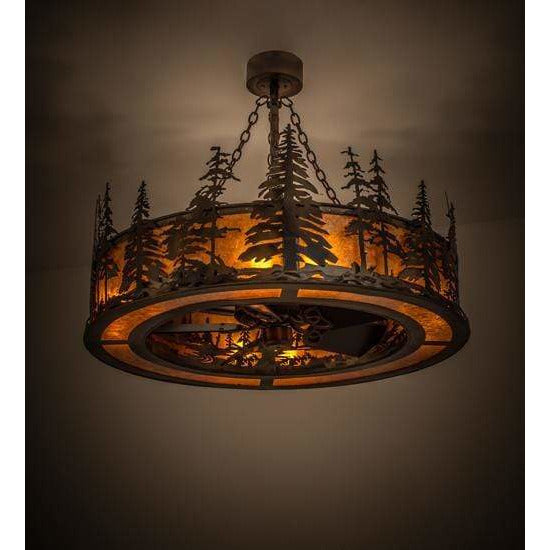 Meyda Lighting Chandeliers Default Tall Pines Ceiling Fixture By Meyda Lighting 172092