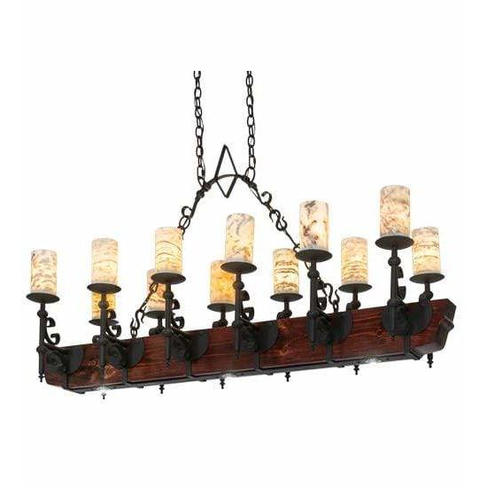 Meyda Lighting Ceiling Fixture, Billiard/Islands Default Tudor Jadestone Ceiling Fixture By Meyda Lighting 167878