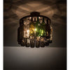 Meyda Lighting Ceiling Fixture, Flush Mounts Default Tuscan Vineyard Ceiling Fixture By Meyda Lighting 200302