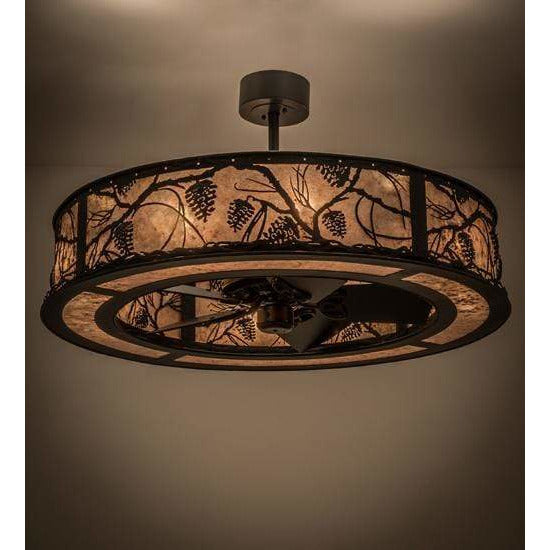 Meyda Lighting Chandeliers Default Whispering Pines Ceiling Fixture By Meyda Lighting 170922