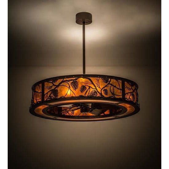 Meyda Lighting Chandeliers Default Whispering Pines Ceiling Fixture By Meyda Lighting 171629
