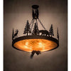 Meyda Lighting Ceiling Fixture, Chandeliers Default Wildlife At Dusk Ceiling Fixture By Meyda Lighting 194328