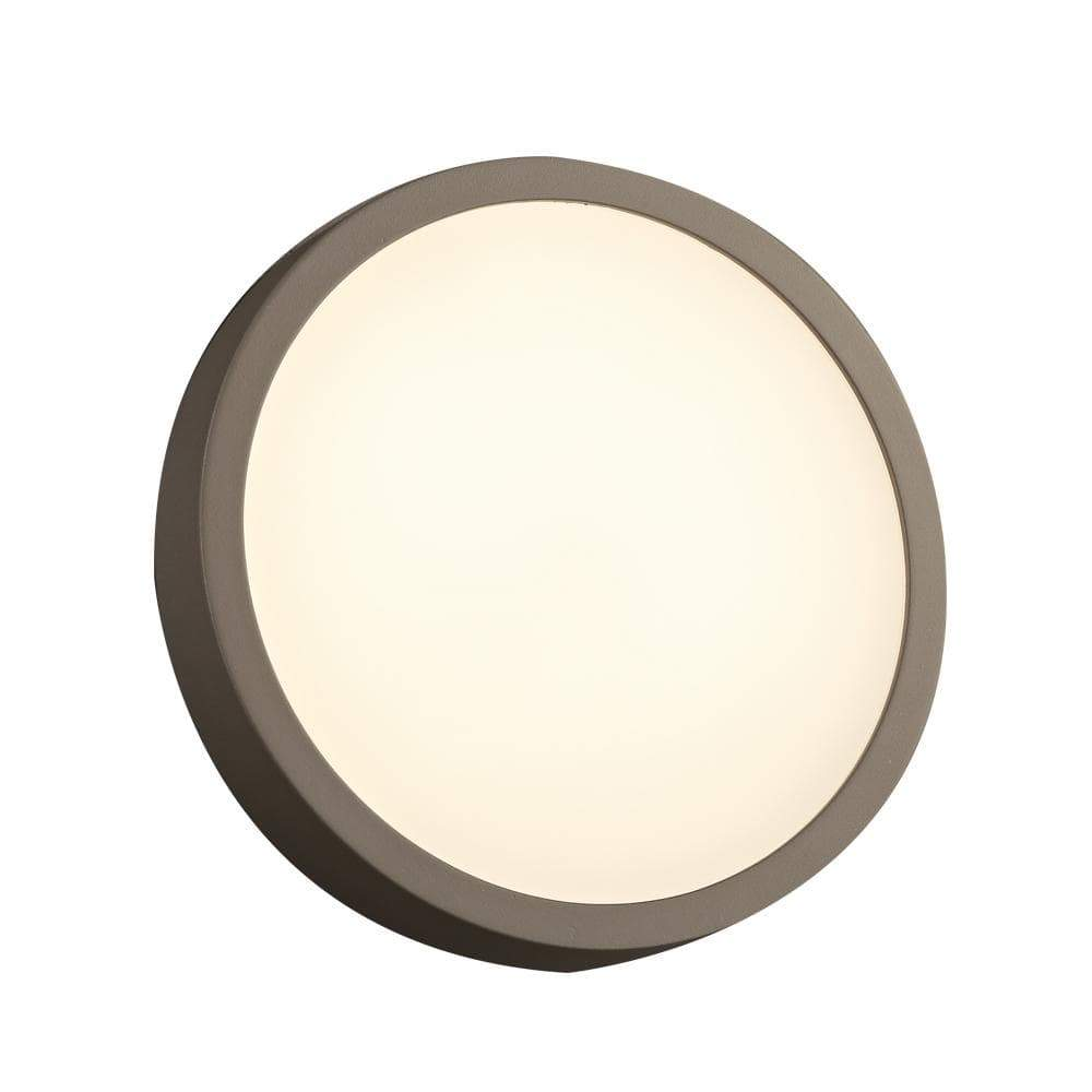 PLC Lighting outdoor lighting Bronze / Integrated LED 1 Bronze exterior light from the Olivia Collection By PLC Lighting 2256