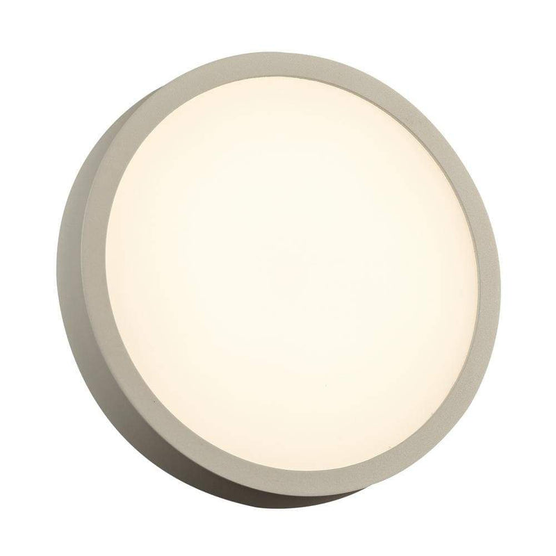 PLC Lighting outdoor lighting Silver / Integrated LED 1 Exterior Silver light from the Olivia Collection By PLC Lighting 2256