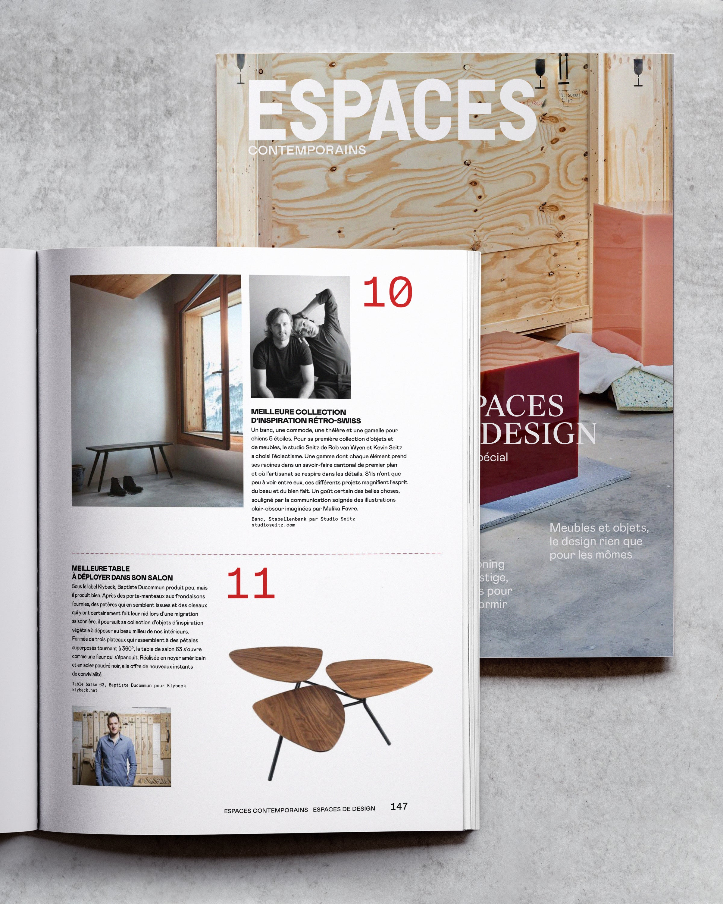 Espaces: Best in Swiss Design 2019