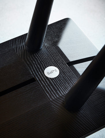 Joinery of Ebonized Stabellenbank—Swiss Stable Bench