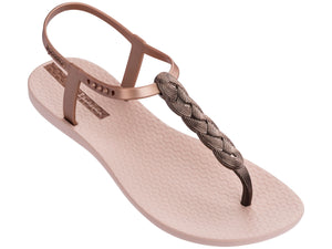 9d3c925c9 Ipanema Charm Sandals - Blush Braid. (Rose gold   Bronze).