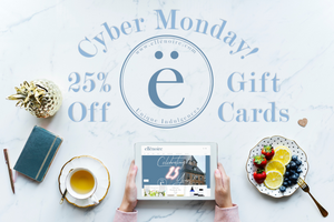 Help Us Celebrate our 25th Anniversary on Cyber Monday!