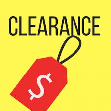 Clearance Section!