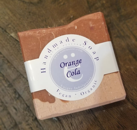 ellënoire Handmade Orange Cola Soap-Soap-ellënoire body, bath fragrance & curly hair