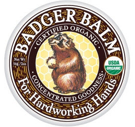 Badger Balm for Hardworking Hands-Skin Care-ellënoire body, bath fragrance & curly hair