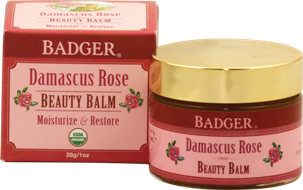 Badger Damascus Rose Beauty Balm-Face Products-ellënoire body, bath fragrance & curly hair