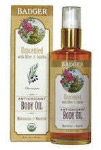 Badger Unscented Body Oil-Badger-ellënoire body, bath fragrance & curly hair