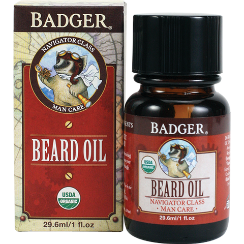 Badger Men's Beard Oil-Shaving-ellënoire body, bath fragrance & curly hair