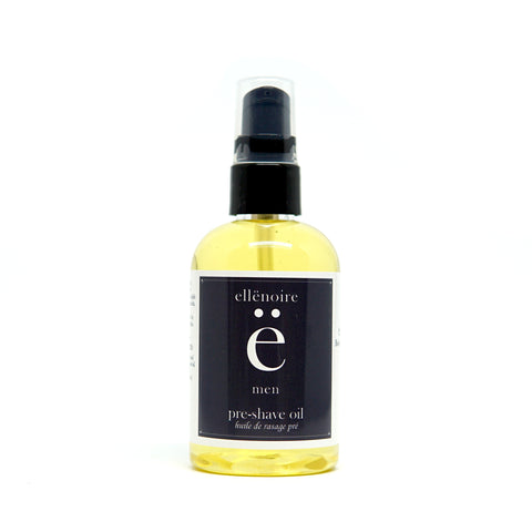 ellënoire Men's Pre-Shave Oil-Shaving-ellënoire body, bath fragrance & curly hair