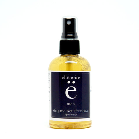 ellënoire Men's Sting Me Not Aftershave-Shaving-ellënoire body, bath fragrance & curly hair