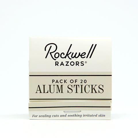 Rockwell Razors - Alum Sticks Matchbook-ellënoire body, bath fragrance & curly hair