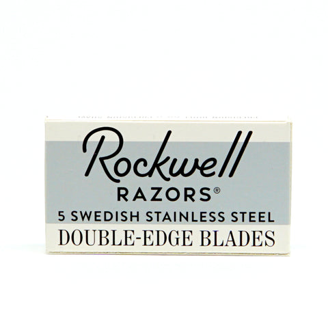 Rockwell Razors - Double Edge Razor Blades 5-Pack-ellënoire body, bath fragrance & curly hair