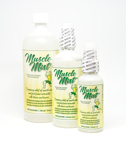 Muscle Mist-Pain Relief-ellënoire body, bath fragrance & curly hair