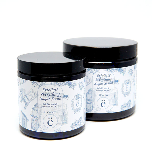 ellënoire Exfoliate Everything Sugar Scrub-Face Products-ellënoire body, bath fragrance & curly hair