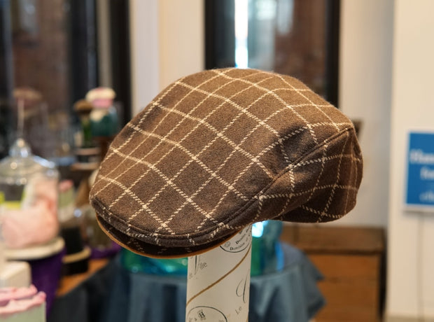 Vintage Handmade Flat Cap-Hat-ellënoire body, bath fragrance & curly hair
