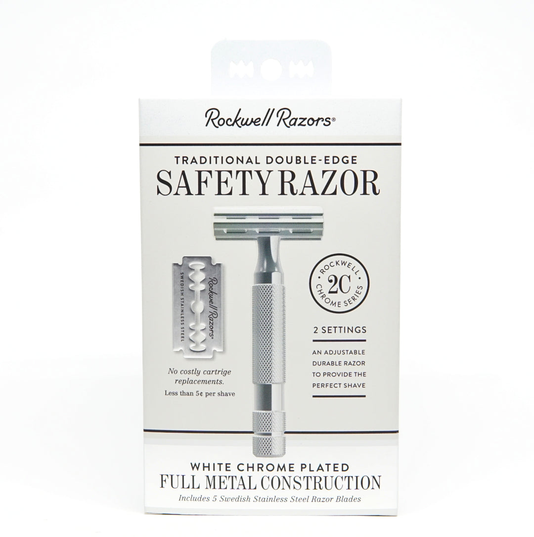 Rockwell Razors - Traditional Double Edge Safety Razor 2C-ellënoire body, bath fragrance & curly hair