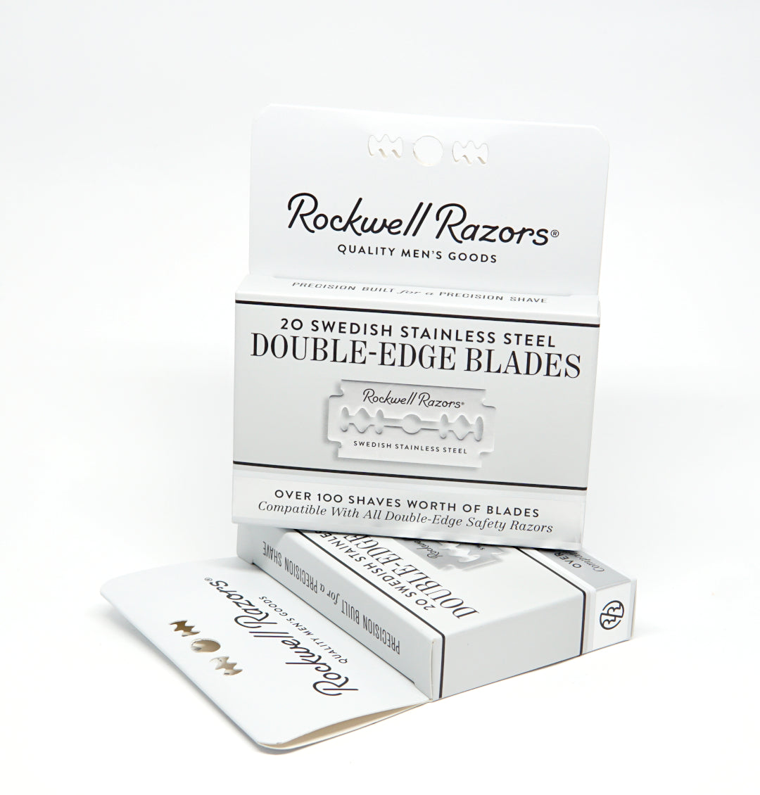 Rockwell Razors - Double Edge Razor Blades 20-Pack-ellënoire body, bath fragrance & curly hair