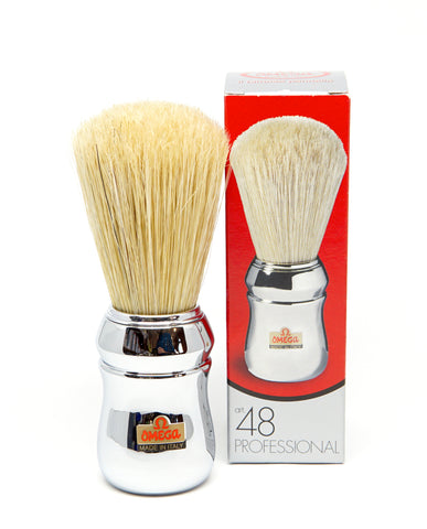 Omega - No. 48 Professional Brush-Shaving-ellënoire body, bath fragrance & curly hair