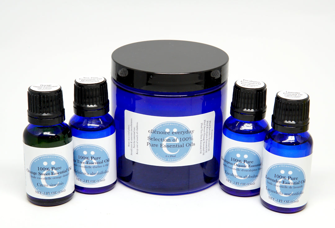 ellënoire everyday - Essential oil starter set-ellënoire body, bath fragrance & curly hair