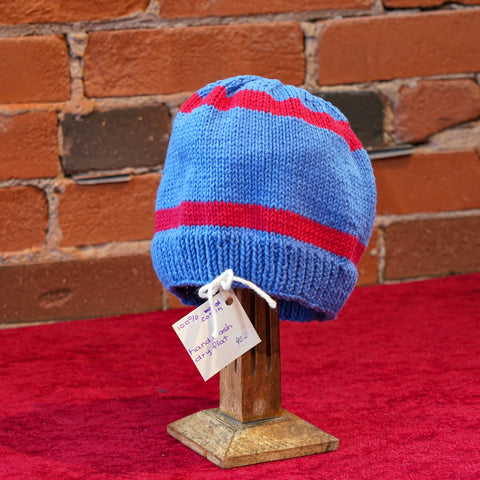 "ellënoire Curly Safe Hats - ""The Hockey Sweater"" Toque-Hat-ellënoire body, bath fragrance & curly hair"
