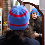 "Clearance! ellënoire Curly Safe Hats - ""The Hockey Sweater"" Toque-Hat-ellënoire body, bath fragrance & curly hair"