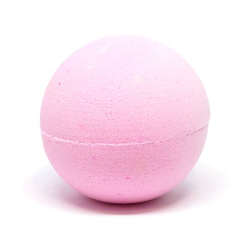 "ellënoire ""ëbomb"" Bath Bomb - Pink Grapefruit-Bath Products-ellënoire body, bath fragrance & curly hair"