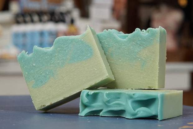 "ellënoire ""Leaf"" Limited Edition Handmade Soap With Rare Natural Scent Selection-Soap-ellënoire body, bath fragrance & curly hair"