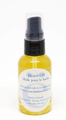 ellënoire Beard Oil-Shaving-ellënoire body, bath fragrance & curly hair