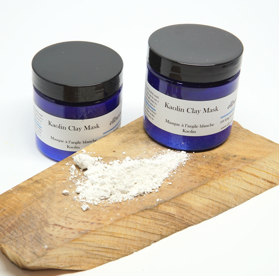 ellënoire Kaolin Clay Mask-Face Products-ellënoire body, bath fragrance & curly hair