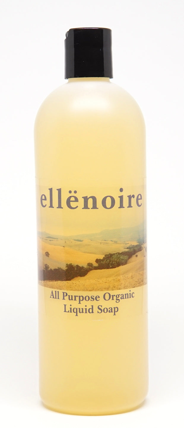 ellënoire All Purpose Aloe Castile Liquid Soap-Natural House Cleaning-ellënoire body, bath fragrance & curly hair