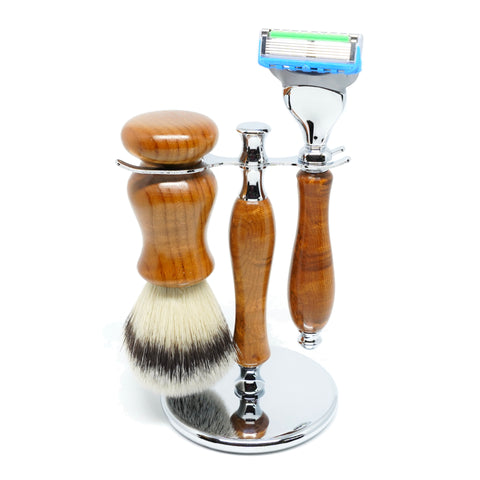 Deluxe Handmade Razors, Shaving Brushes & Shaving Stands-Shaving-ellënoire body, bath fragrance & curly hair