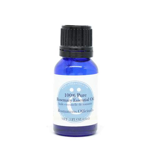Rosemary 100% Pure Essential Oil, 20 ml in a glass bottle with dropper top-ellenoire fragrance-ellënoire body, bath fragrance & curly hair