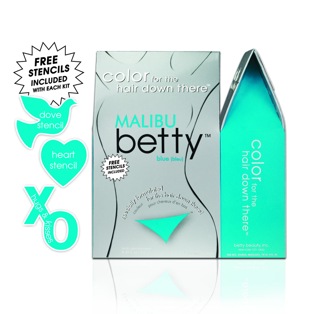 Betty - Colour for the Hair Down There-Betty-ellënoire body, bath fragrance & curly hair