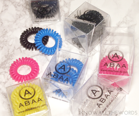 ABAA Hair Rings (3 Pack)-Curly Hair Products-ellënoire body, bath fragrance & curly hair