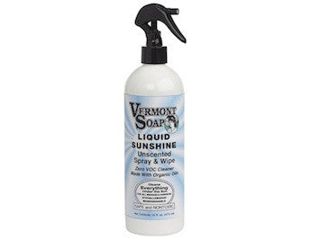 Vermont Soap Liquid Sunshine All Purpose Cleaning Spray Unscented-ellënoire body, bath fragrance & curly hair