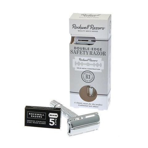 Rockwell Razors - Double Edge Safety R1 Razor-ellënoire body, bath fragrance & curly hair
