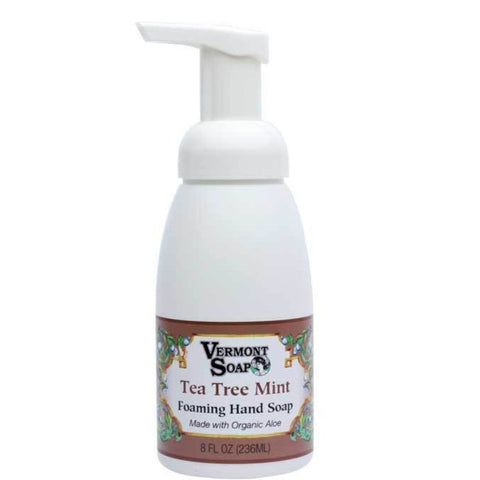 Vermont Soap Foaming Hand Soap - Tea Tree Mint-ellënoire body, bath fragrance & curly hair