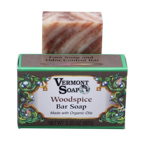Vermont Soap Organic Soap Bar- Woodspice Scent-Soap-ellënoire body, bath fragrance & curly hair