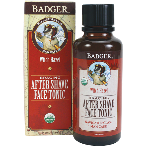 Badger Men's After Shave Face Tonic-Shaving-ellënoire body, bath fragrance & curly hair