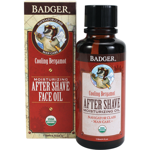 Badger Men's After Shave Face Oil-Shaving-ellënoire body, bath fragrance & curly hair