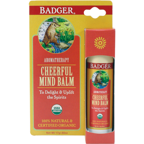 Badger Cheerful Mind Balm-Badger-ellënoire body, bath fragrance & curly hair