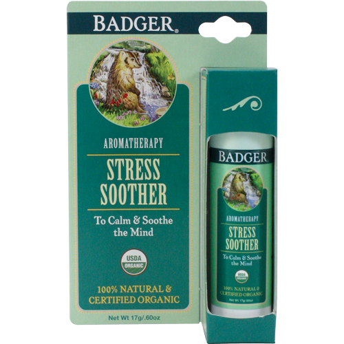 Badger Tension Soother-Aromatherapy-ellënoire body, bath fragrance & curly hair
