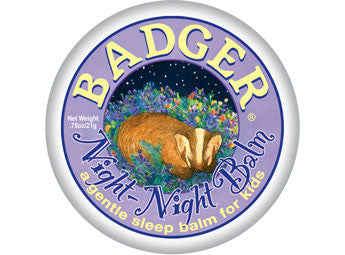 Badger Night Night Balm-Aromatherapy-ellënoire body, bath fragrance & curly hair